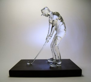 statuetki szklane